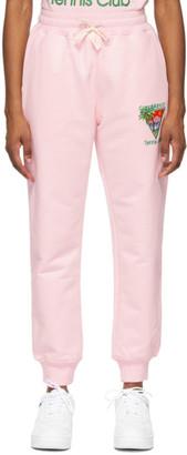 Casablanca Pink Tennis Club Lounge Pants
