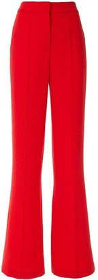 Adam Lippes Wide-Leg Wool Trousers