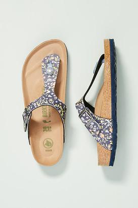Birkenstock Gizeh Vegan Sandals By in Blue Size 37