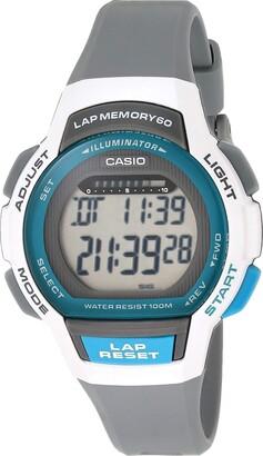 Casio Women's Runner Series Quartz Running Watch with Resin Strap