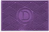 "Bed Bath & Beyond Weather GuardTM Diamonds Monogrammed ""D"" 23-Inch x 35-Inch Door Mat"