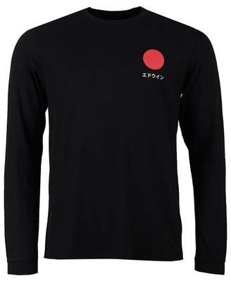 Edwin Japanese Sun Long Sleeved T-shirt Colour: WHITE, Size: SMALL