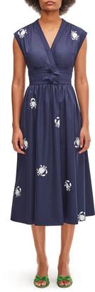 Kate Spade Snappy Poplin Midi Dress