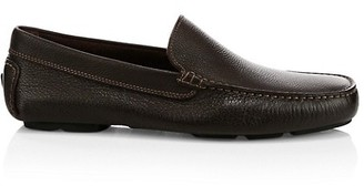 To Boot Harlan Pebbled Leather Driving Loafers