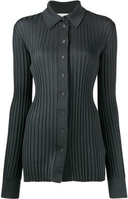 Bottega Veneta Ribbed Buttoned Cardigan