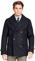 Polo Ralph Lauren Wool-Blend Down Peacoat