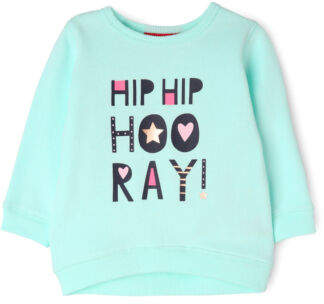 Sprout NEW Girls Crew Neck Sweat Top Mint