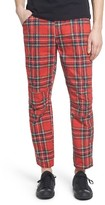 G Star Men's Elwood X25 Royal Tartan Pants