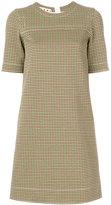 Marni patterned shift dress
