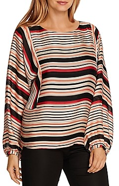 Vince Camuto Stripe Interiors Dolman Top
