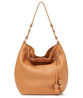 Botkier Kenna Studded Tasseled Drawstring Hobo Bag