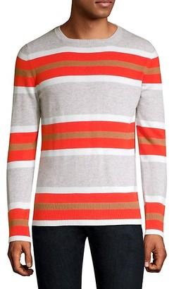 Eleventy Stripe Cashmere Sweater