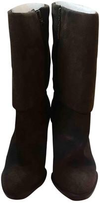Michael Kors Grey Suede Boots
