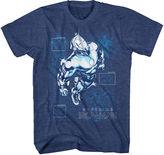 Novelty T-Shirts Marvel Short-Sleeve Superior Iron Man Tee