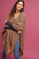 Anthropologie Wool Plaid Kimono