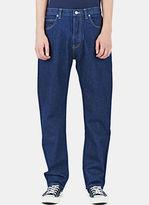 Sunspel Men's Straight Leg Jeans In Navy