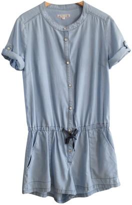 Bonpoint Blue Cotton Jumpsuit for Women