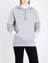 Calvin Klein Patch appliqué cotton-jersey hoody