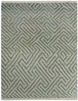 Arshs' Fine Rugs Modern Arya Rosalyn Hand-Knotted Moroccan Wool Rug