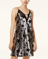 XOXO Juniors' Sequined A-Line Dress