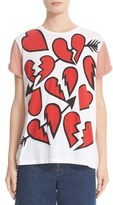 Stella McCartney Women's Heart Graphic Tee
