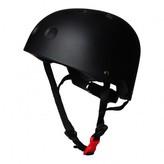 Kiddimoto Matt black helmet