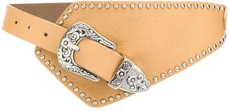 B-Low the Belt Stud-Embellished Leather Belt