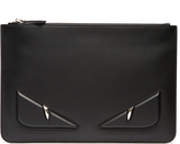 Fendi Bag Bugs leather pouch