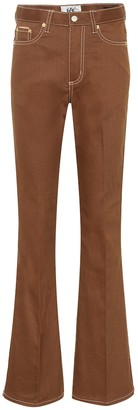 Eytys Oregon Twill high-rise flared jeans