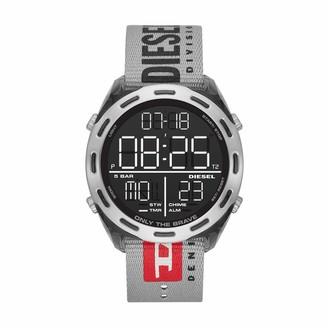Diesel Men's LCD Digital Watch with NYLON Strap DZ1894