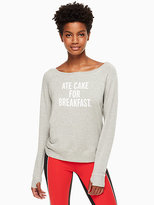 Kate Spade Ate cake pull over