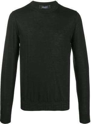 Versace Fine Knit Cashmere Jumper