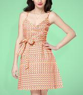 Fred Flare Tulle Wynne Wrap Dress