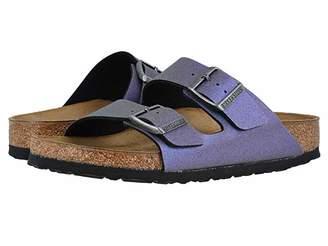 Birkenstock Arizona Icy Metallic Birko-Flortm (Stone Gold Birko-Flortm) Women's Sandals