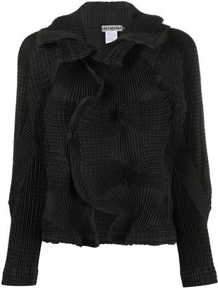 Issey Miyake Printed Short Jacket