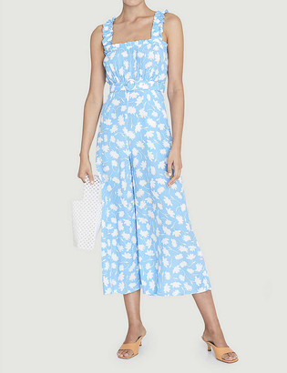 Faithfull The Brand Dolores floral-print crepe jumpsuit