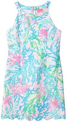 Lilly Pulitzer Sophelia Shift (Big Kids) (Multi Coral Bay) Girl's Clothing