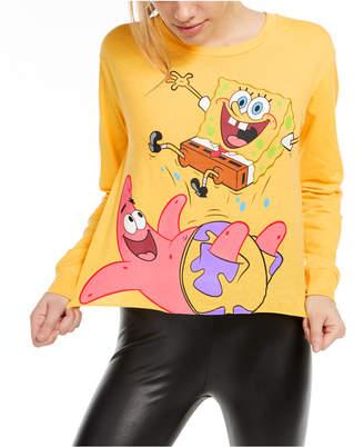 Nickelodeon Juniors' Long-Sleeve SpongeBob Graphic T-Shirt