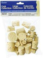 Darice 30 Piece Cork Bottle Plugs
