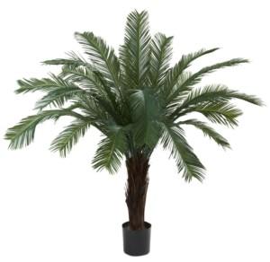 Nearly Natural 5' Cycas Uv-Resistant Indoor/Outdoor Artificial Tree