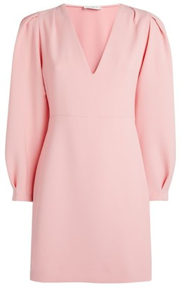 Sandro Blouson-Sleeve Mini Dress