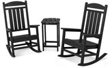 Presidential 3 Piece Seating Group POLYWOODA Frame Color: Black