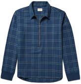 Simon Miller Checked Cotton-twill Shirt - Blue