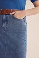 Country Road Midi Denim Skirt