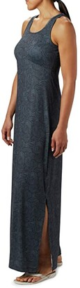Columbia Freezer Maxi Dress (Black Seaside Swirls) Women's Dress