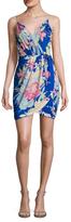 Yumi Kim Jayne Silk Wrapped Dress