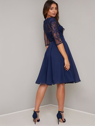 Chi Chi London Carmella Lace Dress