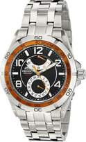 Orient Men's CFM00002B Power Reserve Semi-Skeleton Automatic Watch