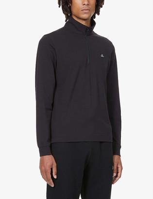 C.P. Company Funnel neck stretch-cotton sweatshirt