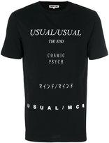 McQ by Alexander McQueen lyrics T-shirt